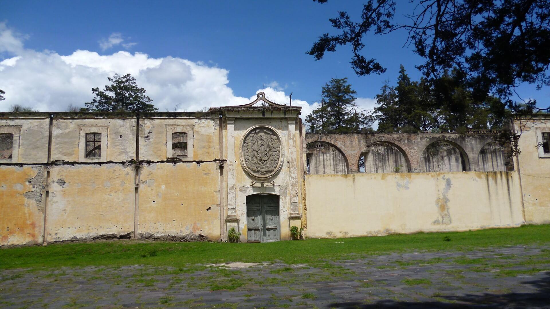 Granero Museo Hacienda San Cristóbal Polaxtla