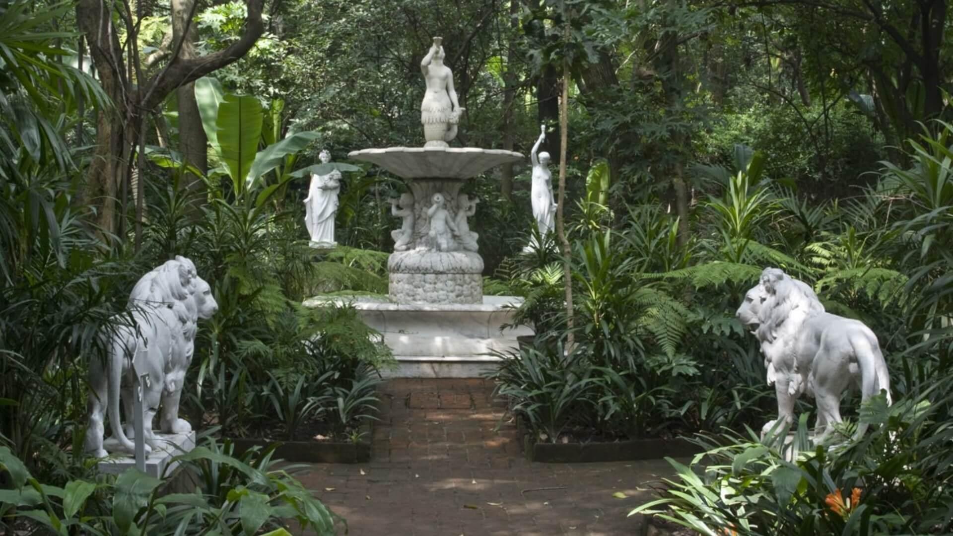 Jardines Museo Casa de la Bola