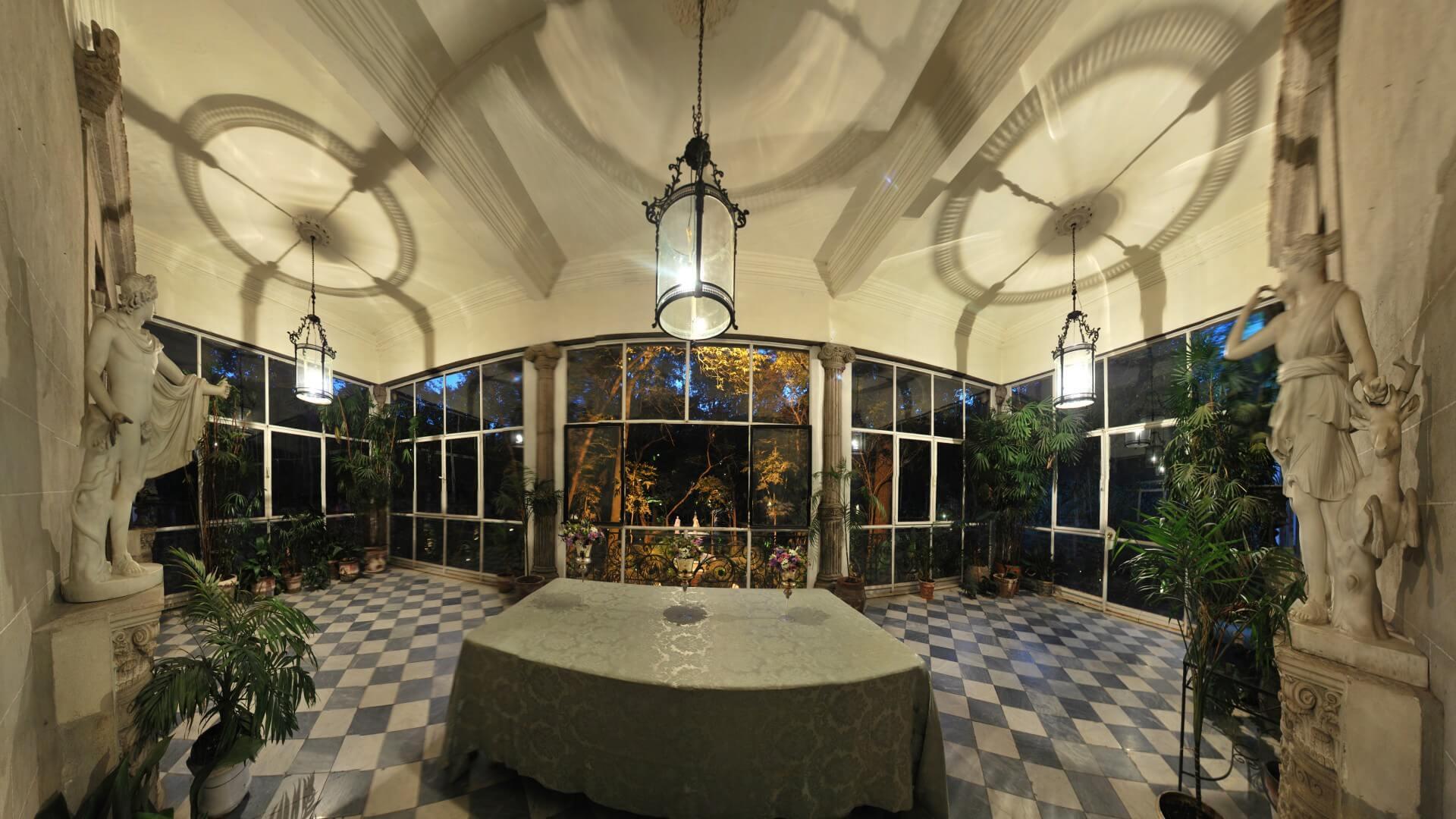 Terraza de Apolo Museo Casa de la Bola