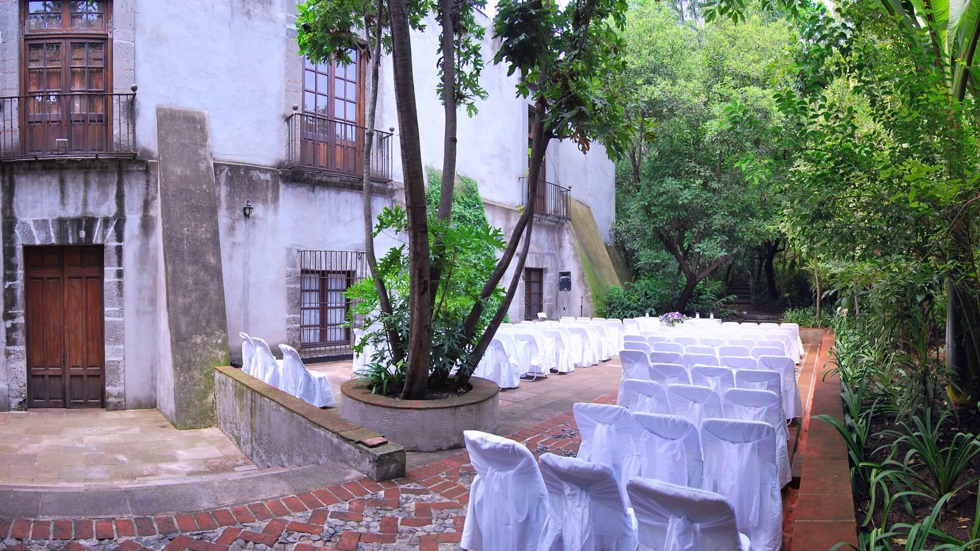 Terraza de los Olivos Museo Casa de la Bola