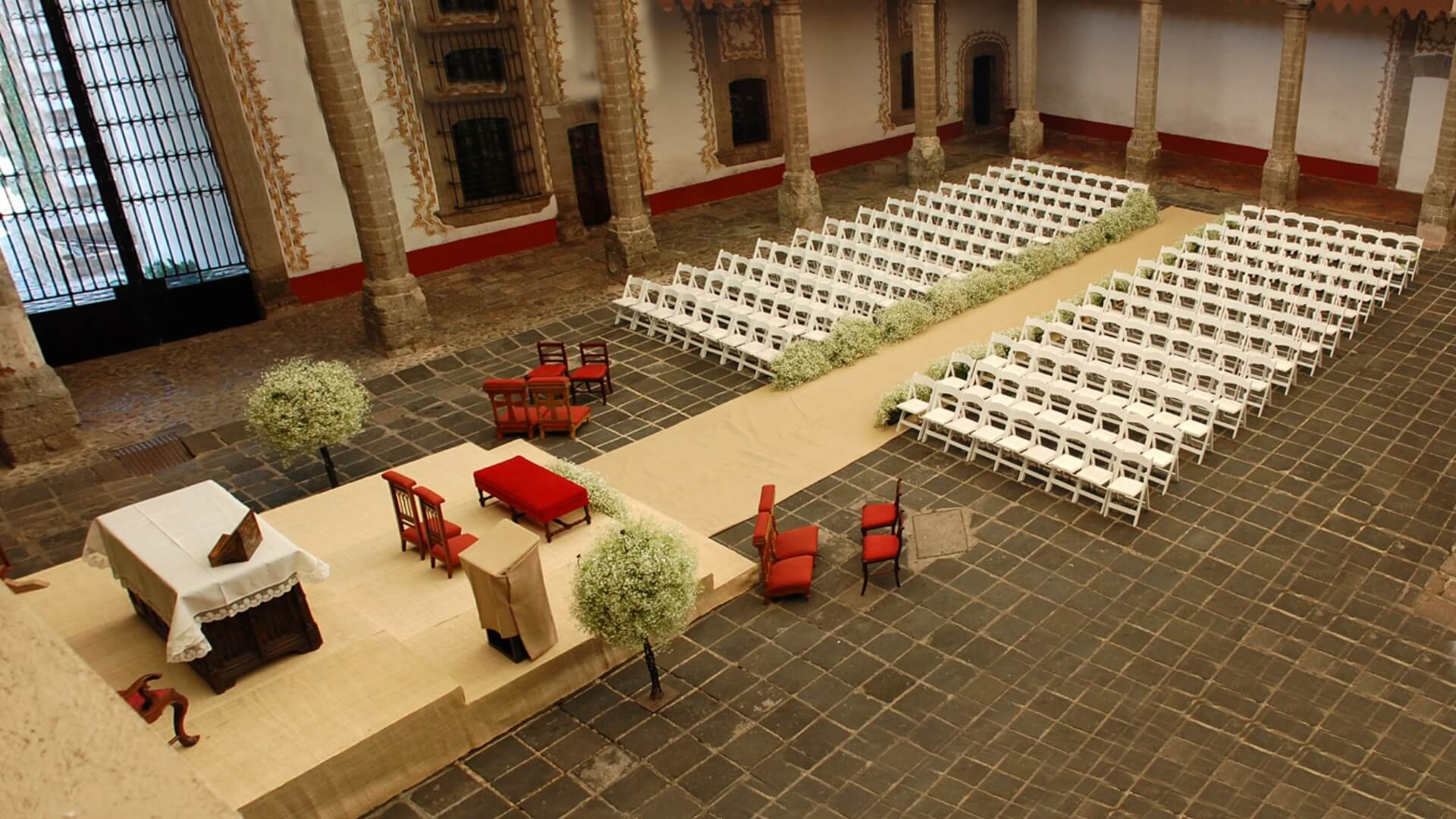 Patio Central Museo Hacienda de Santa Mónica