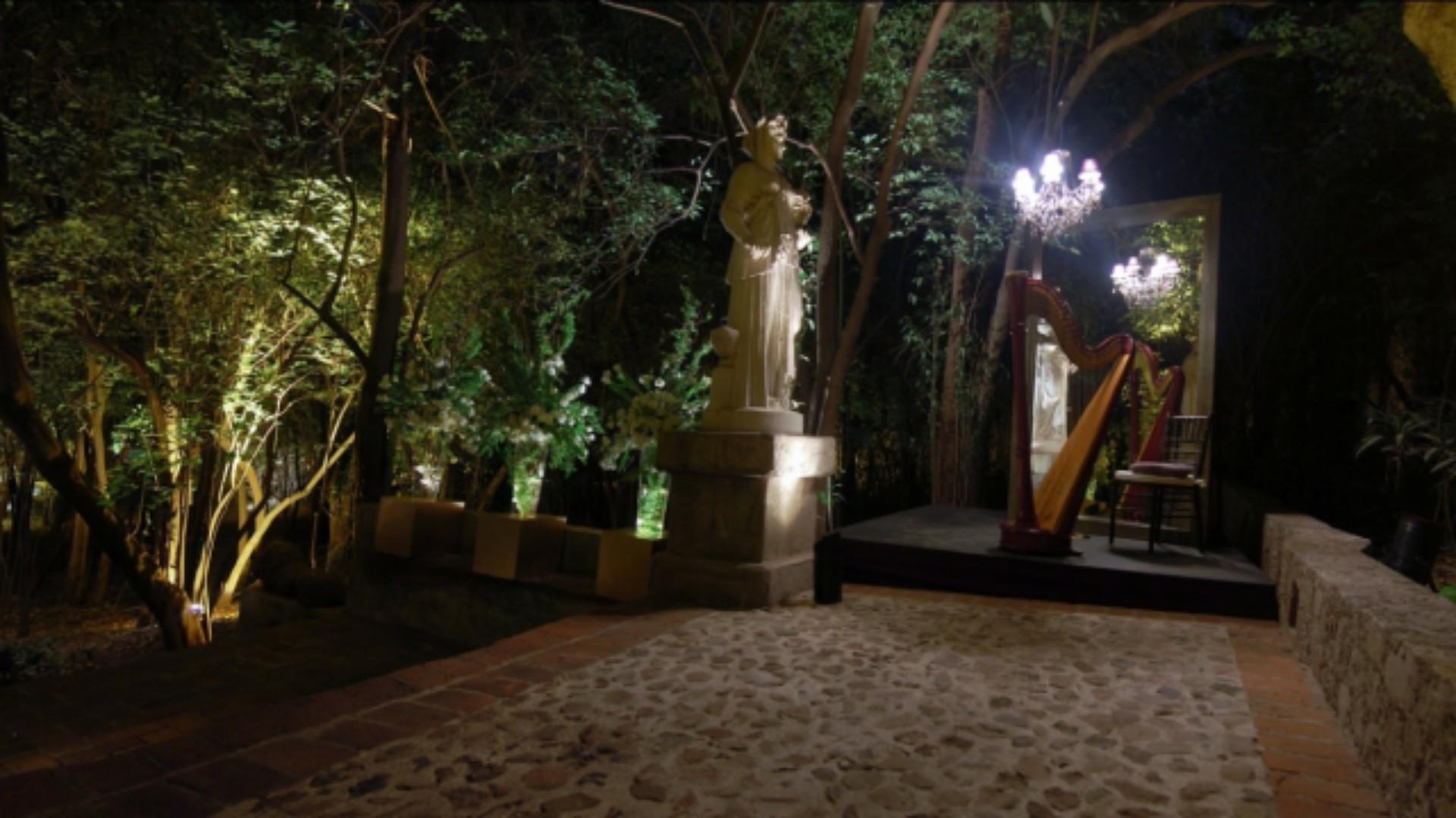 Jardín de los Perales Museo Hacienda de Santa Mónica